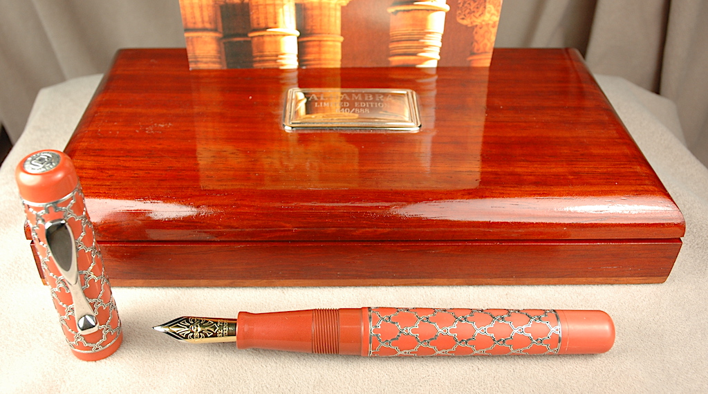 Pre-Owned Pens: 4387: Visconti: Alhambra