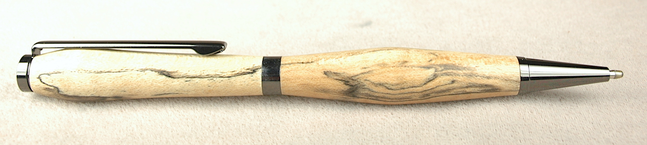 Pre-Owned Pens: 4408: Adventure Pens: Spalted Maple