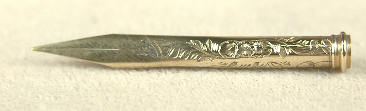 Vintage Pens: 4569: Unknown: Ivory Dipper