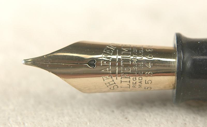 Vintage Pens: 4573: Sheaffer: Lifetime Balance