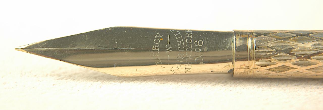Vintage Pens: 4708: Hick's: LeRoy W Fairchild