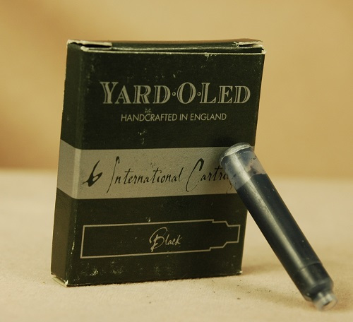 Ink: 948307: Yard-O-Led: Black International Ink Cartridges (Short)