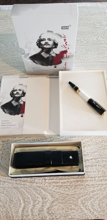Pre-Owned Pens: : Mont Blanc: Shakespeare Writers Edition