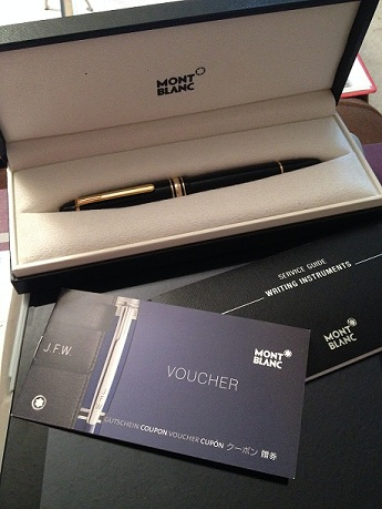 Pens and Pencils: : Mont Blanc: Meisterstuck Legrand Fountain Pen