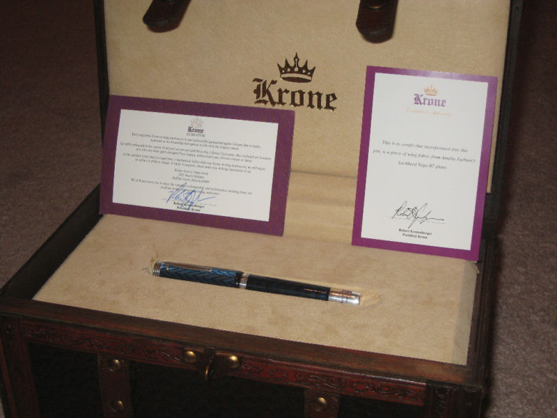 Pre-Owned Pens: : Krone: Amelia Earhart Fountain Pen #31