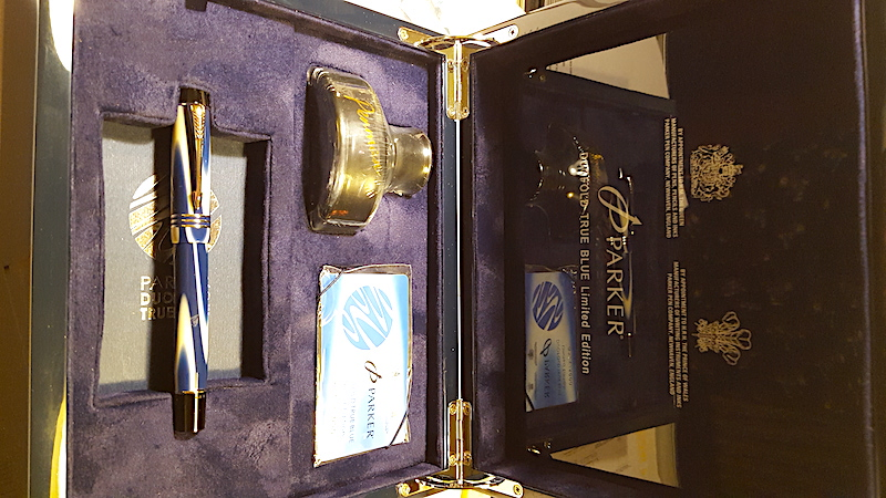 Pre-Owned Pens: : Parker: Duofold True Blue