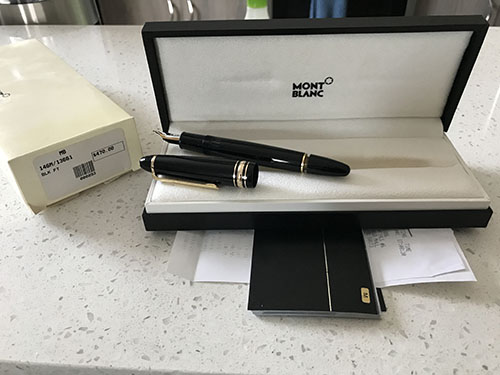 Pens and Pencils: : Mont Blanc: 146M/13661