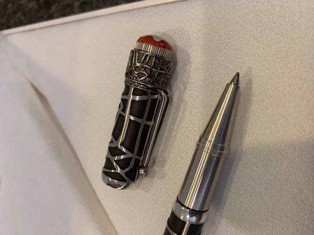 Pre-Owned Pens: : Mont Blanc: Rouge & Noir Spider Metamorphosis Limited Edition 1906