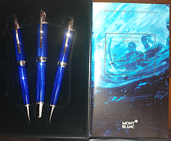 Pre-Owned Pens: : Mont Blanc: Jules Verne Writers Series