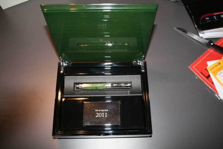 Pens and Pencils: : Faber Castell: Pen of the year 2011