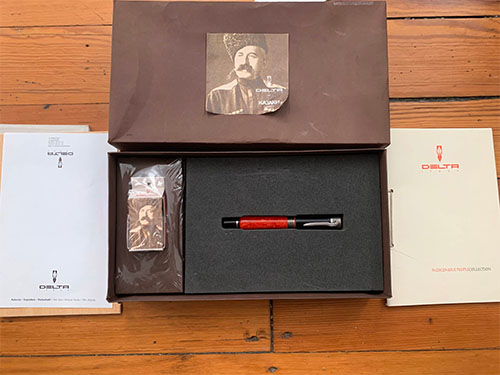 Pens and Pencils: : Delta: Indigenous People Cossacks Limited Edition