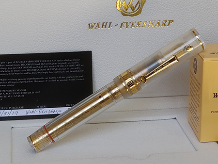 Pre-Owned Pens: : Wahl-Eversharp: Decoband Oversize Demonstrator