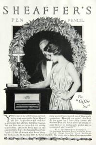 Sheaffer Lifetime pen set ad