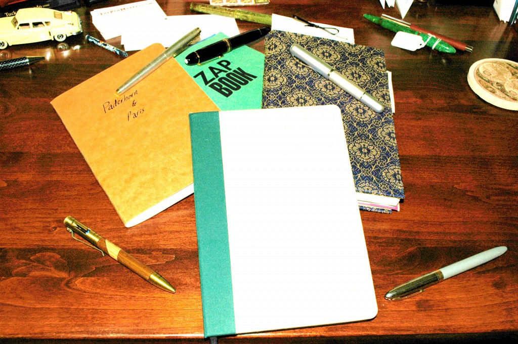 Journals come in all shapes and sizes. The trick is to find one you like and just keep plugging away at it. Before you know it, you will have preserved many incredible memories and events.