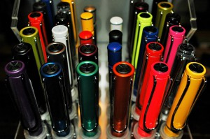 This year ThePenMarket.com is hosting a Lamy table at the Chicago Pen Show...in addition to its usual vintage/modern pens table. These Lamys are part of the special new nib-testing station for Lamy.